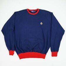 Vintage Polo Ralph Lauren (XL) MCMLXVII Crest Red Trim Raglan Sleeve Sweatshirt