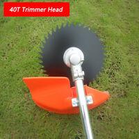 40 Teeth Grass Trimmer Brush Cutter Head Steel Garden Tools Strimmer Mower Blade