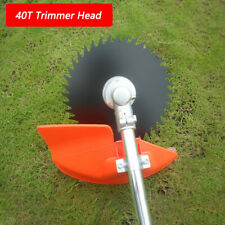 40 Teeth Grass Trimmer Brush Cutter Head Steel Garden Tools Strimmer Mower Blade