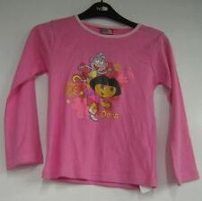T-shirts et débardeurs blanc manches longues pour fille de 6 à 7 ans