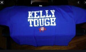 JIM KELLY TOUGH T-Shirt Buffalo Bills 1st Edition