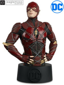 Eaglemoss DC Justice League Movie The Flash Bust Brand New and In Stock