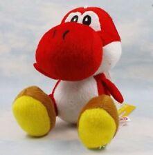 "Super mario bros red yoshi 7"" soft plush toy doll Figure"