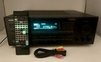 Onkyo TX-SV727 Audio Video Control Stereo Tuner Amplifier R1 with Remote BUNDLE