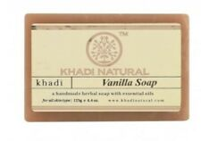 Khadi Soap Herbal Vanilla Soap(Set Of 2) 125x2 gm For Acne,cleanse your skin