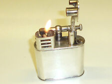 """DUNHILL """"UNIQUE"""" LIFTARM LIGHTER - SILVER PLATED - PAT. 390107 - ENGLAND - RARE"""