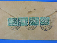 MALAYA Cover POSTAGE DUE 1941 KUALA LUMPUR TO THAILAND OPEND BY [S8/2]