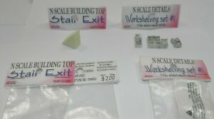 N WAREHOUSE FREIGHT DETAILS:WORKSHELVING SETS AND STAIR EXITS - NEW