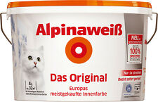 4L Alpinaweiß Das Original - weiße Innenfarbe - spritzfrei
