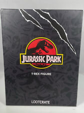 LOOT CRATE DX Jurassic Park T-Rex Statue Figure New Sealed Extremely Rare