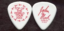 DIXIE CHICKS 2003 Top Of World Tour Guitar Pick!! JOHN MOCK custom concert stage