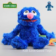 Sesame Street Plush Grover Hand Puppet Play Games Doll Toy Puppets New 2016