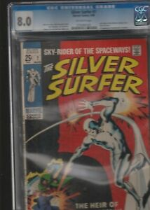 THE SILVER SURFER # 7 CGC 8.0