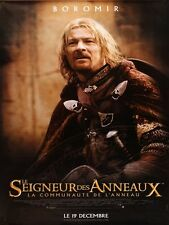 POSTER Le seigneur des Anneaux - La communaute de l'anneau  SEAN BEAN IS BOROMIR