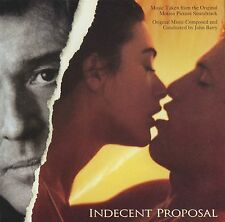 Indecent Proposal soundtrack CD John Barry Pretenders Vince Gill Seal Orbison