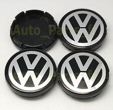 4  Caches Jante moyeux Centre roue Boulon PLAT 6N0 601 171 VW Volkswagen 55/56mm