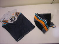 CHALLENGED ATHLETES FOUNDATION CAF JERSEY  & SHORTS - TRIATHLETE RUNNING CYCLING