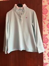 Crew ClothingTurquoise pullover - Size 12