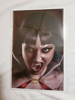 VAMPIRELLA #13 CARLA COHEN RED COLOR VIRGIN VARIANT LTD 300 NM+IN MYLAR  🔥
