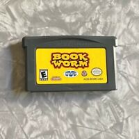 Bookworm AUTHENTIC Nintendo Gameboy Advance Cartridge Cleaned & TESTED Majesco