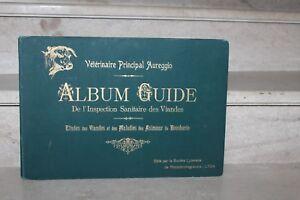 Aureggio - Album guide de l'inspection sanitaire des viandes (90 planches)