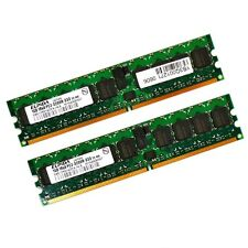 2x1GB Elpida EBE10RD4AGFA-4A-E PC2-3200R Server-Speicher-RAM ECC *mit Rechnung*