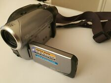 Sony Handycam DCR-DVD202E DVD Camcorder WORKING - NO CHARGER