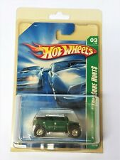 Hot Wheels 2008 Super Treasure Hunt ROCKSTER Green SUV 3/12 NOC In Protector