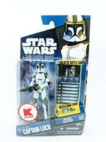 STAR WARS Clone wars K Mart Exclusive Captain Lock - 3.75 Action Figure NEW