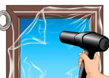 Exitex Window Insulation Double Glazing Film Draught Excluder 1.8sqm