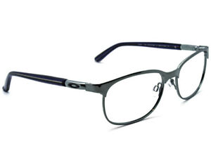 Oakley Women's Eyeglasses OX3124-0553 Descender Black Chrome Frame 53[]16 139