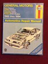 Haynes Manuals: General Motors J-Cars, 1982-1994 : Buick Skyhawk, Cadillac Cima…