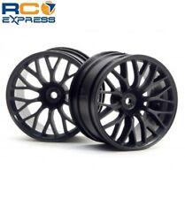 HPI Racing Mesh Wheel Black Super Nitro RS4 (2) HPI3036