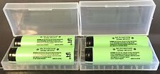 "Brand New ""4""  Panasonic NCR18650B 3.7V 3400mah Battery 18650, w/ Case Japan"