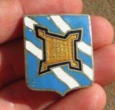 WW2 US Army Military DI DUI Crest Pin Distinctive Insignia 390th Infantry