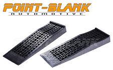 Low-Rise Lowered Race Car Ramps Low Profile Service Ramps for Trolley Jack