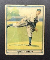 1941 PLAY BALL # 55 WHITLOW WYATT DODGERS Low Grade Free Shipping
