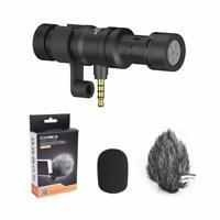 Comica CVM-VS08 Shotgun Condenser Microphone for Smartphone Huawei iPhone Video