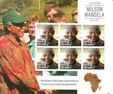 Gambia 2013 MNH Nelson Mandela In Memoriam 1918-2013 II 6v M/S Death People