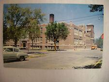 VINTAGE PHOTO POSTCARD CATHEDRAL HIGH SCHOOL ST. CLOUD MINNESOTA UNUSED