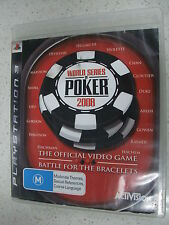 world series of poker 2008 PS3