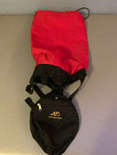 Genuine ALPS Mountaineering Black/Red  Medium Bag with Straps