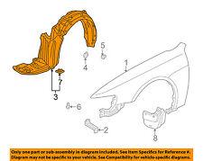 HONDA OEM 13-15 Civic Fender-Rear Shield Left 74155TR3A10