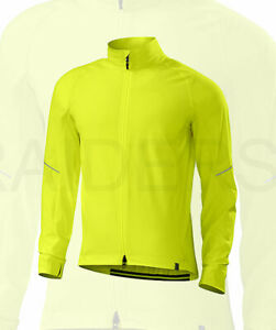 Specialized Men's Deflect Reflective Cycling Jacket Neon Yellow - Medium