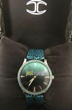 Just Cavalli Damen-Armbanduhr Collection JUST PARADISE Edelstahl Leder