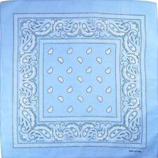 Accessori sciarpe blu per bambine dai 2 ai 16 anni 100% Cotone