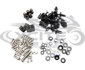 Fairing bolts kit stainless steel, Suzuki GSXR600 GSXR750 2008 2009 2010 #BT161#