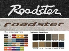 Lloyd Mats Roadster Custom Embroidered Velourtex Front Floor Mats (1941 & Up)