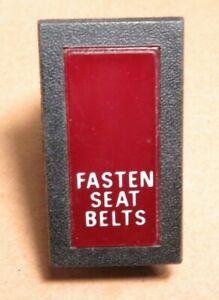 Volvo 240 Parts Fasten Seat Belts Warning Light