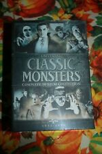 UNIVERSAL CLASSIC MONSTERS COMPLETE 30-FILM DVD COLLECTION - NEW & NOT SEALED!